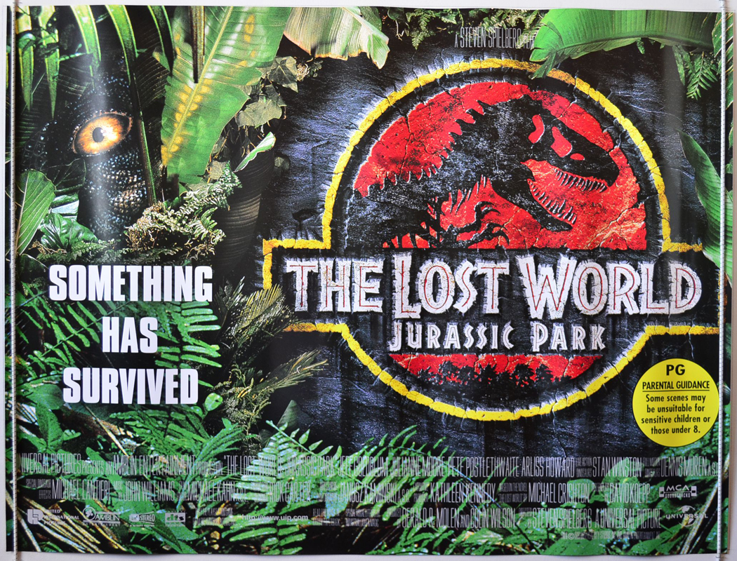 The Lost World: Jurassic Park (1997, dir, Steven Spielberg)
