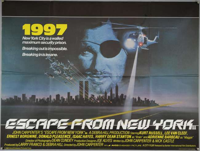 Escape From New York (1981, dir. John Carpenter)