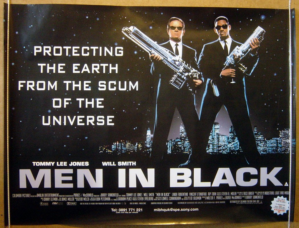 Men In Black (1997, dir. Barry Sonnenfeld)