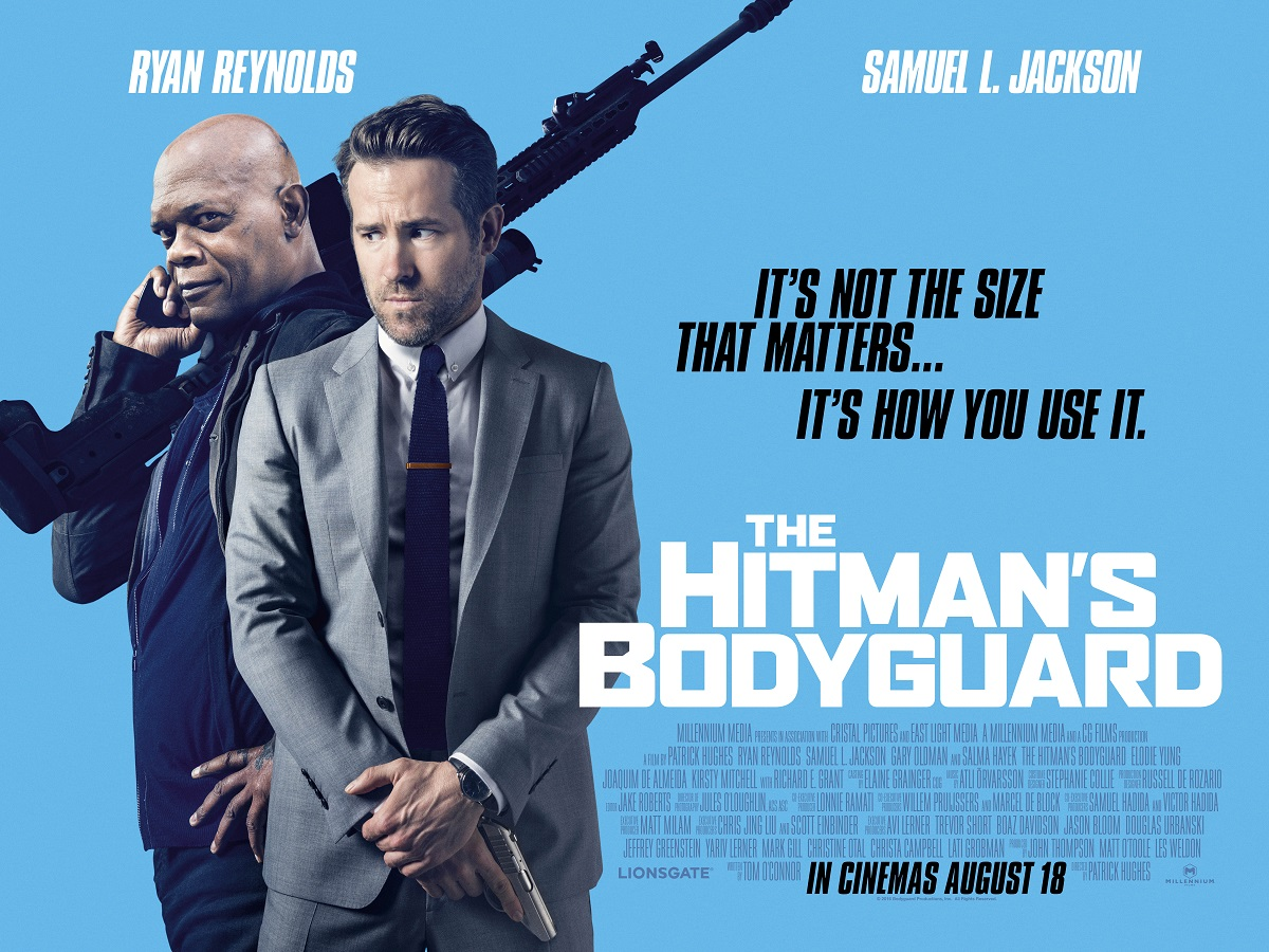 The Hitman's Bodyguard (2017, dir. Patrick Hughes)