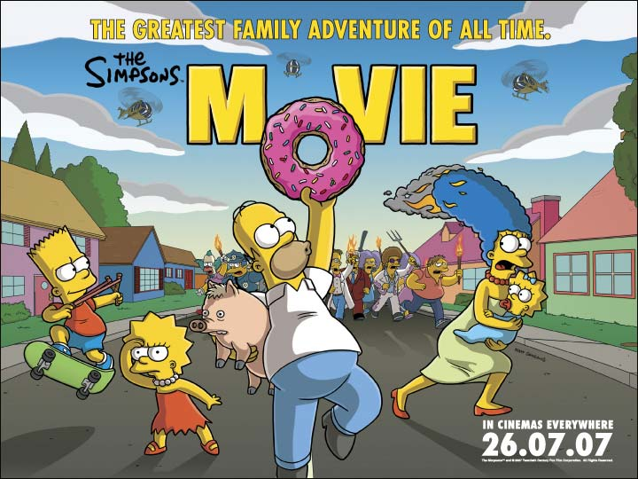 The Simpsons Movie (2007, dir. David Silverman)