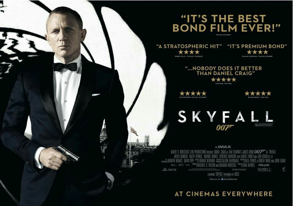 Skyfall (2012, dir. SamMendes)