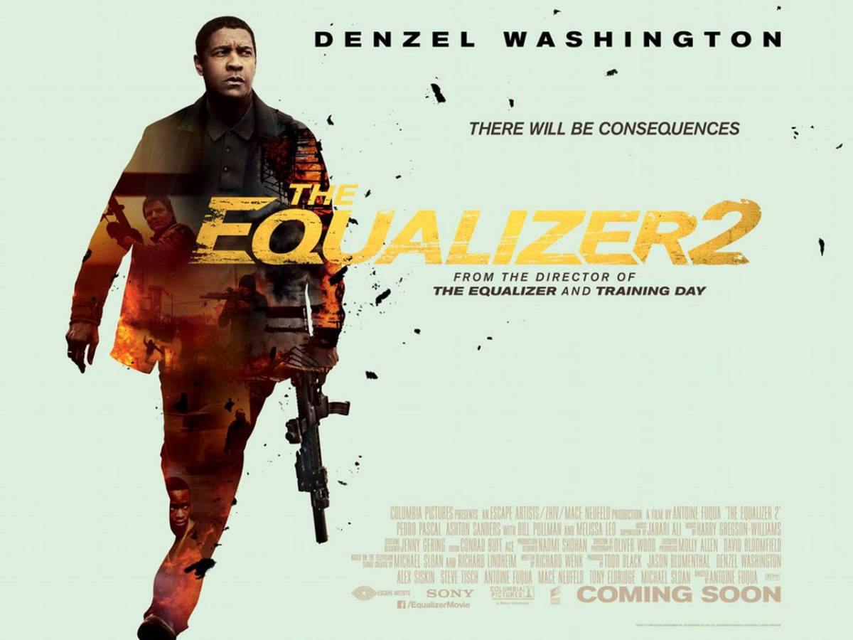 The Equalizer 2 (2018, dir. Antoine Fuqua)