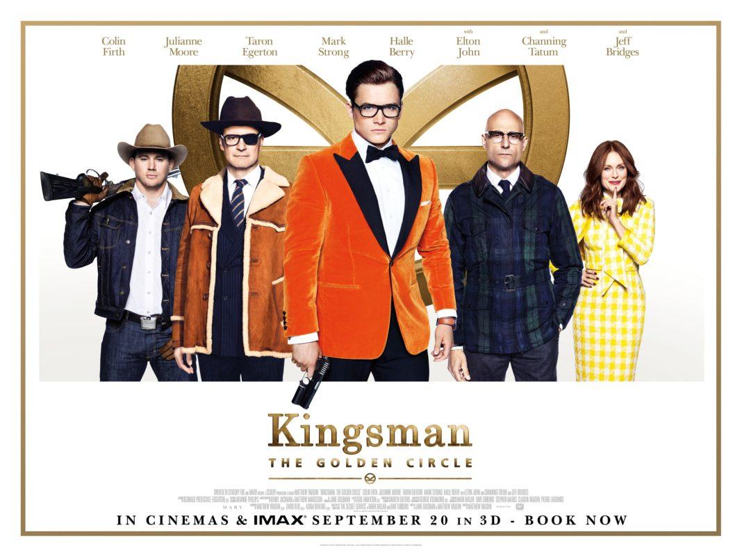 Kingsman: The Golden Circle (2017, dir. MatthewVaughn)