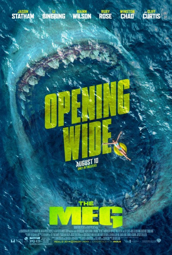 The Meg (2018, dir. Jon Turteltaub)