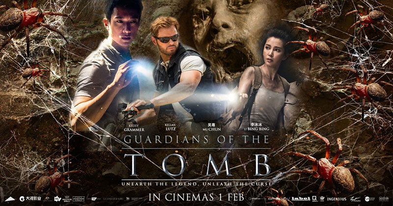 Guardians of the Tomb [AKA 7 Guardians of the Tomb] (2017, dir. Kimble Rendall)