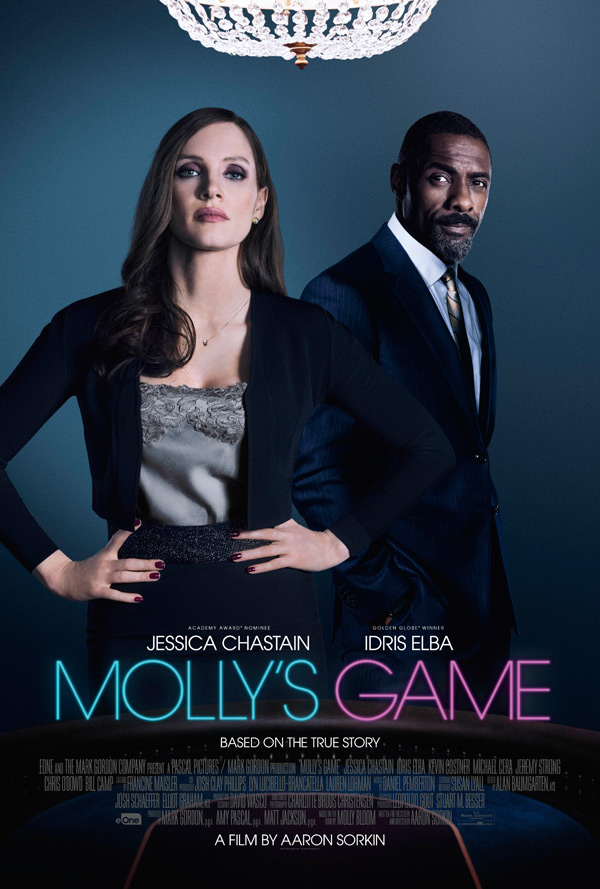 Molly's Game (2017, dir. AaronSorkin)