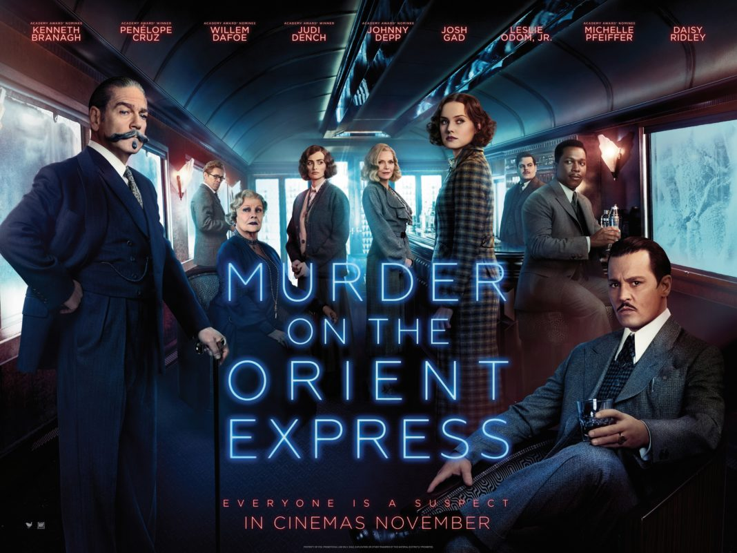 Murder On The Orient Express (2017, dir. Kenneth Branagh)