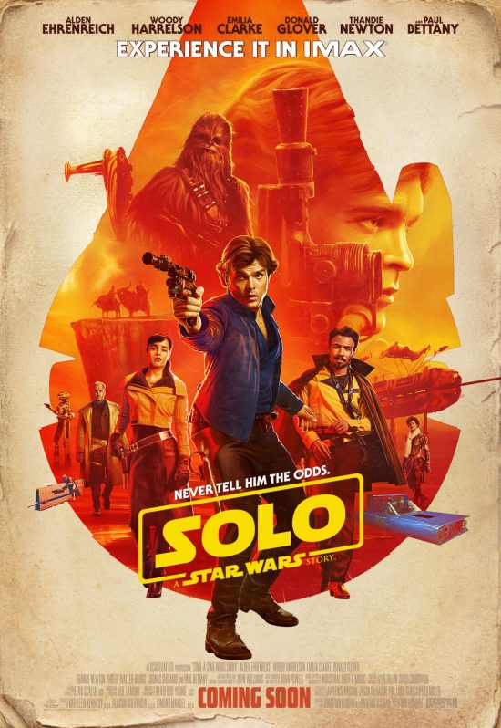 Solo: A Star Wars Story (2018, dir. Ron Howard)
