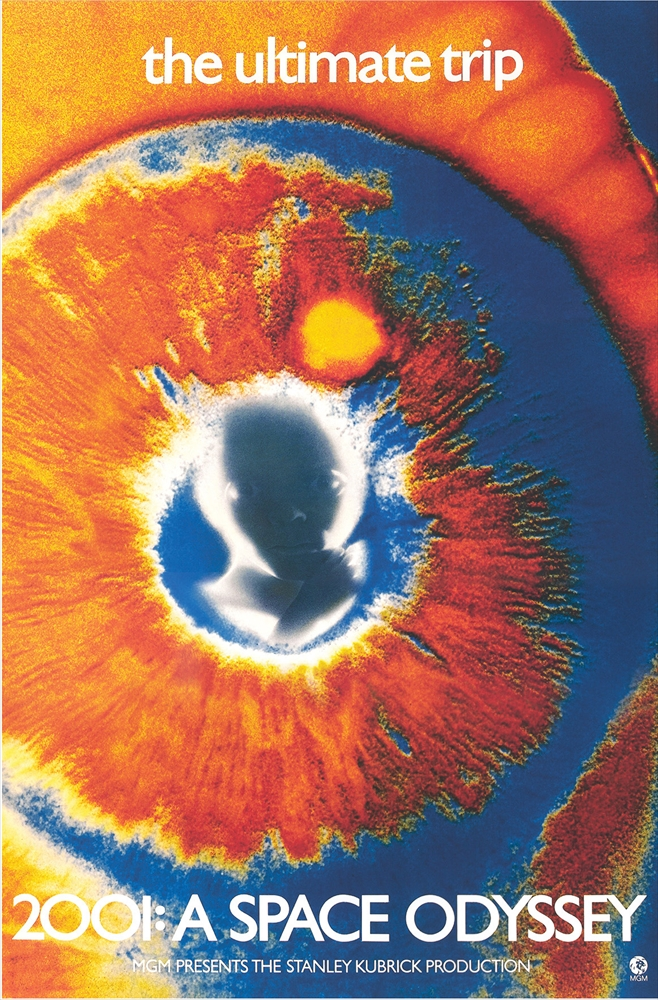 2001: A Space Odyssey (1968, dir. StanleyKubrick)
