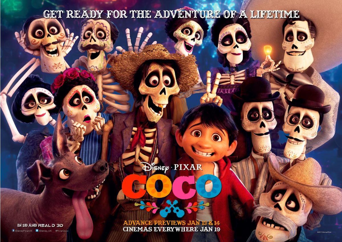 Coco (2017, dir. Lee Unkrich & AdrianMolina)