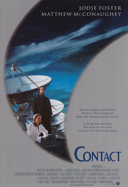 Contact (1997, dir. Robert Zemeckis)