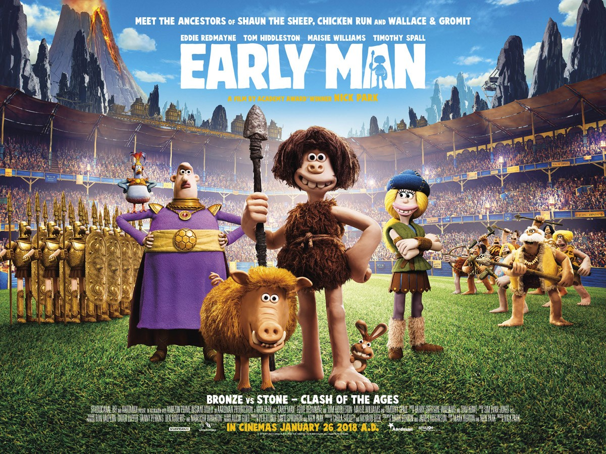 Early Man (2018, dir. Nick Park)