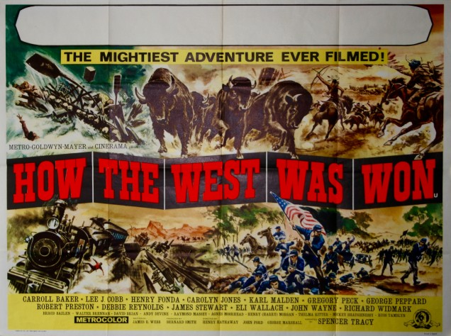 How The West Was Won (1962, dir. Henry Hathaway, John Ford & George Marshall)