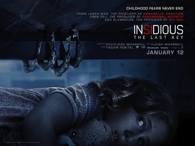 Insidious: The Last Key (2018, dir. AdamRobitel)