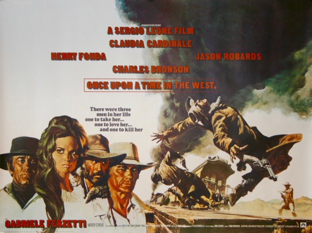 Once Upon A Time In The West (1968, dir. SergioLeone)