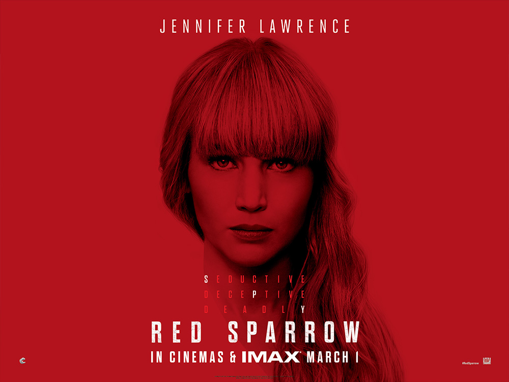 Red Sparrow (2018, dir. Francis Lawrence)