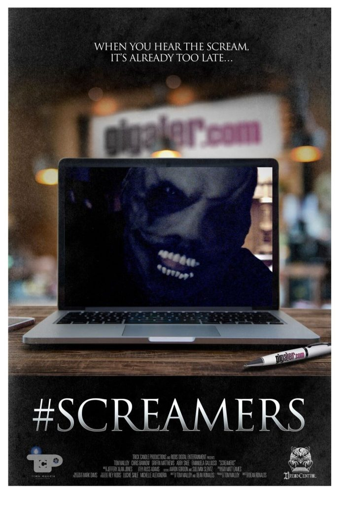 #Screamers (2016, dir. Dean Matthew Ronalds)