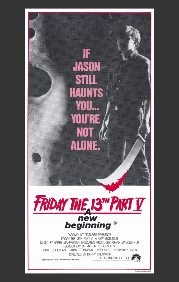 Friday the 13th Part V: A New Beginning (1985, dir. Danny Steinmann)