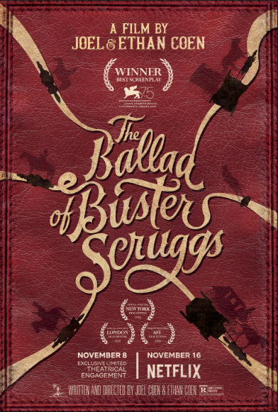 The Ballad of Buster Scruggs (2018, dir. Joel & Ethan Coen)
