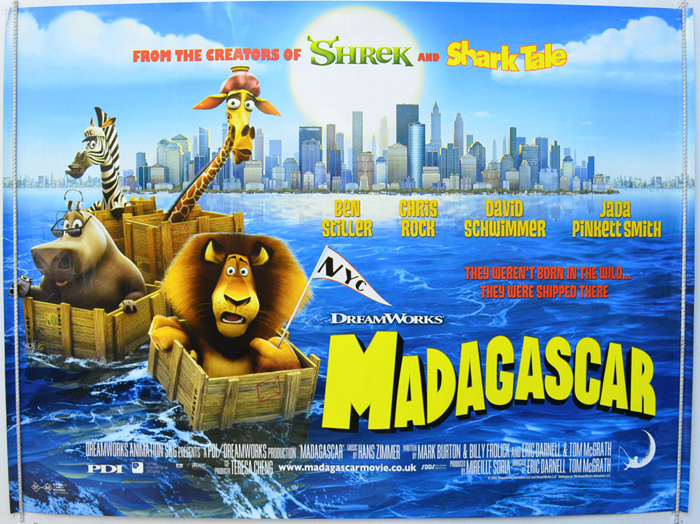 Madagascar (2005, dir. Eric Darnell & Tom McGrath)