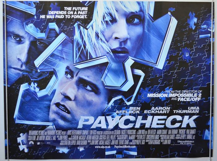 Paycheck (2003, dir. JohnWoo)