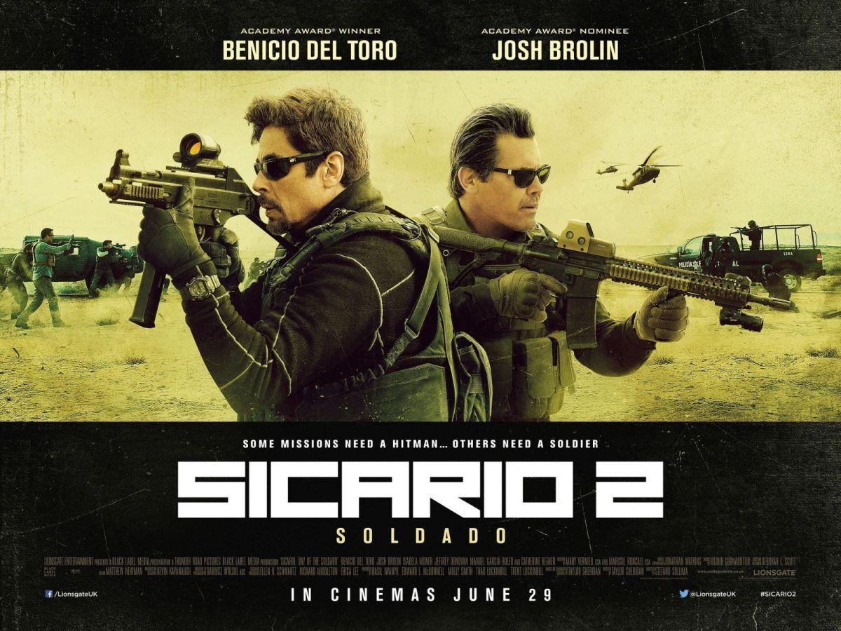 Sicario 2: Soldado (AKA Sicario 2: Day of the Soldado) (2018, dir. StefanoSollima)