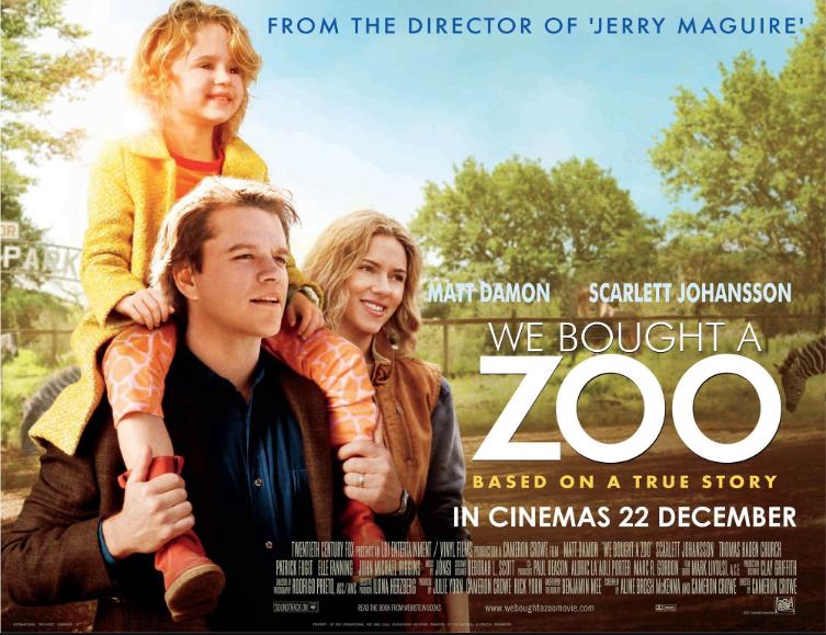 We Bought A Zoo (2011, dir. CameronCrowe)