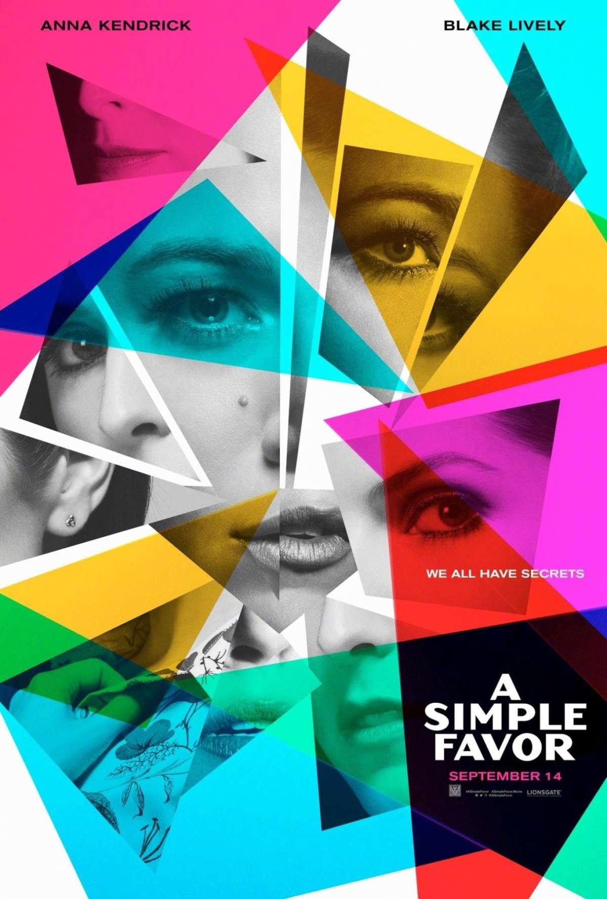 A Simple Favor (2018, Dir PaulFeig)