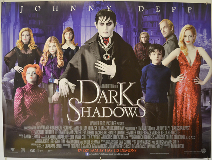 Dark Shadows (2012, dir. Tim Burton)