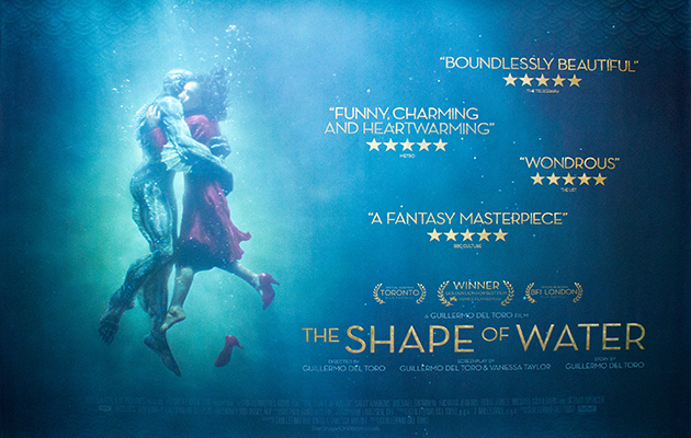 The Shape of Water (2017, dir. Guillermo delToro)
