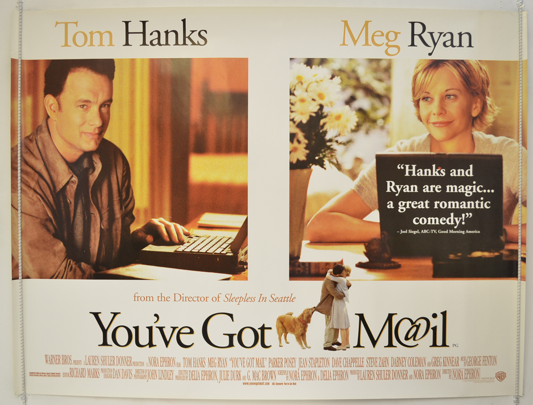 You've Got Mail (1998, dir. Nora Ephron)