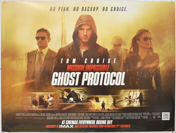 Mission: Impossible: Ghost Protocol (2011, dir. Brad Bird)