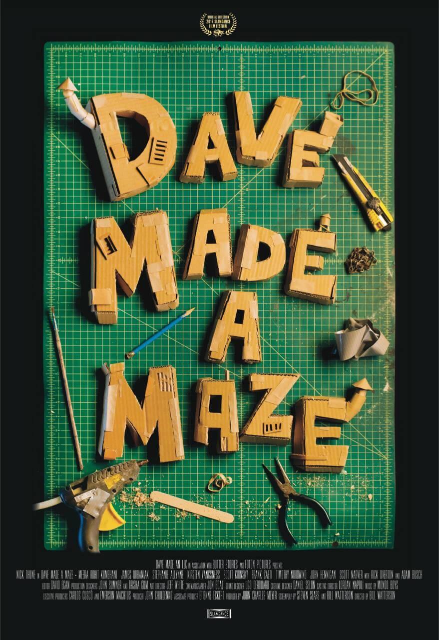 Dave Made a Maze (2017, dir. BillWatterson)