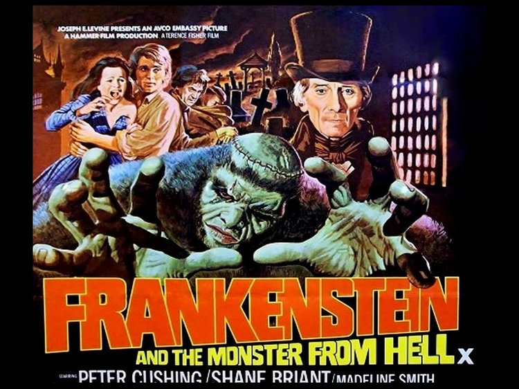 Frankenstein and the Monster From Hell (1974, dir. TerenceFisher)