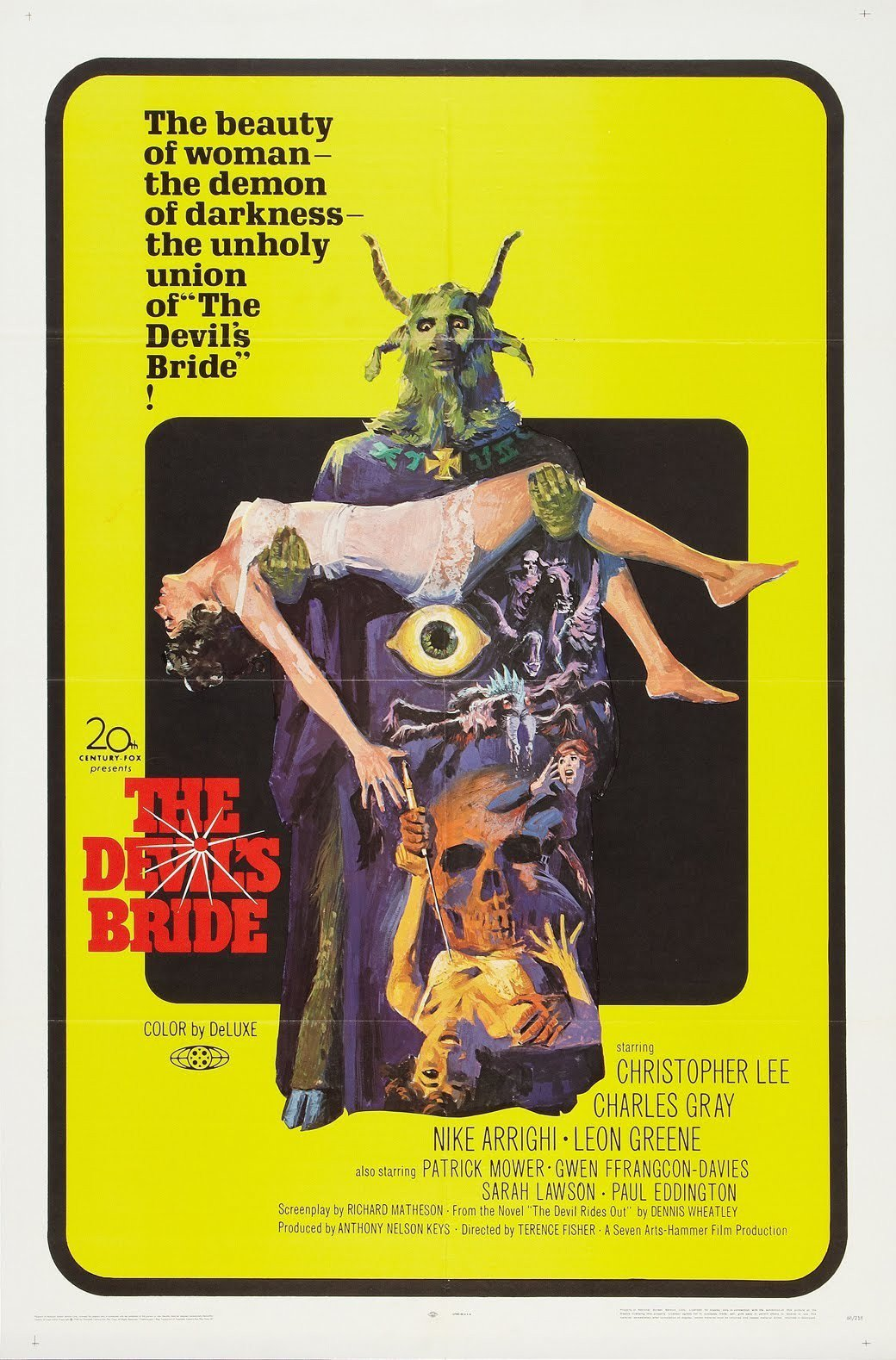 The Devil Rides Out (a.k.a The Devil's Bride 1968, Dir. TerenceFisher)