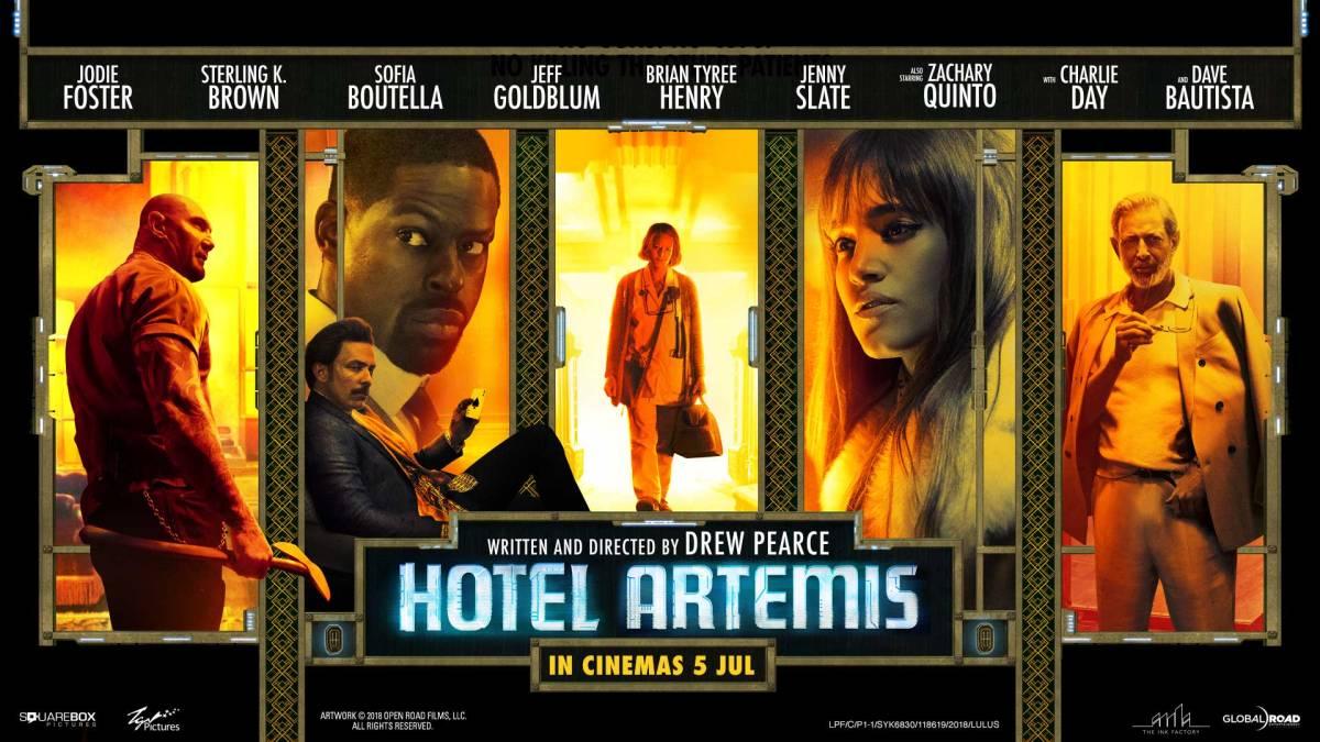 Hotel Artemis (2018, dir. DrewPearce)