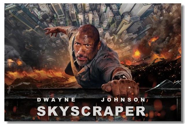 Skyscraper (2018, dir. Rawson MarshallThurber)