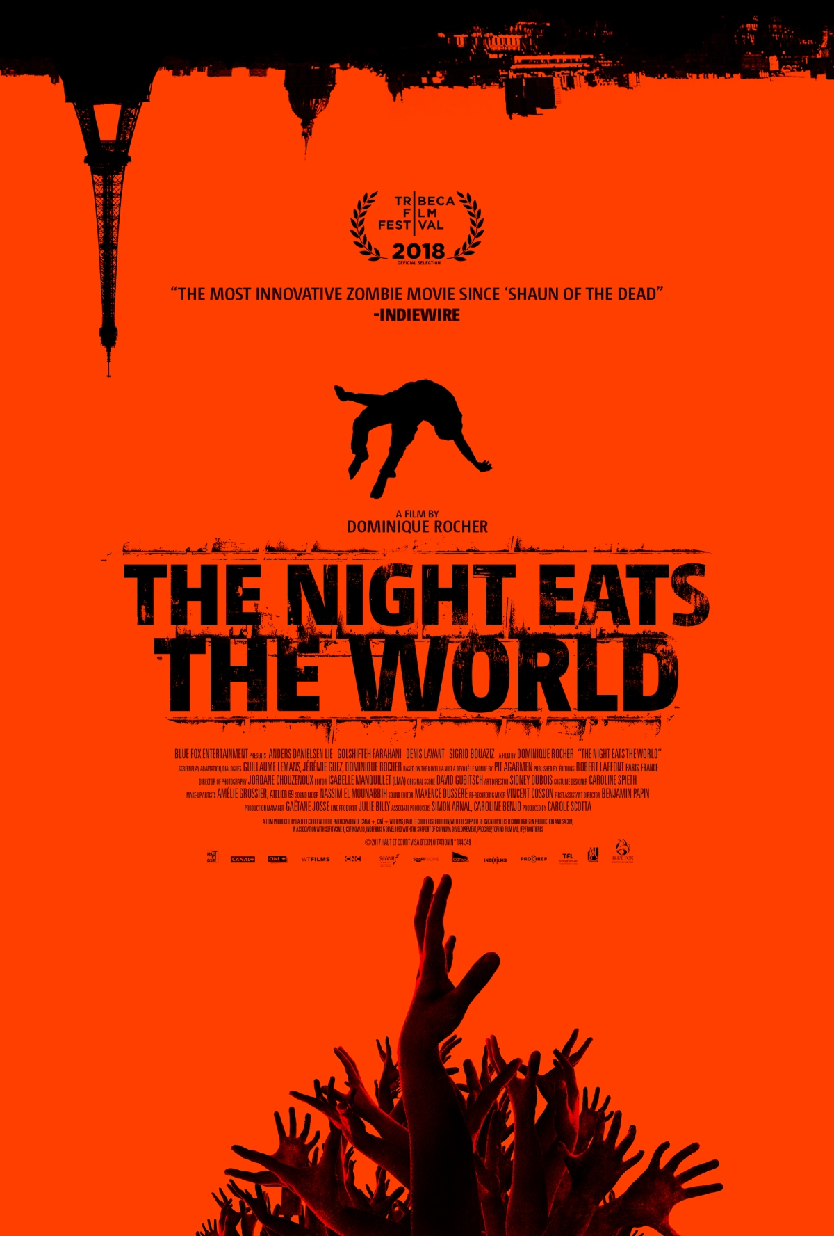 The Night Eats The World (2018, dir. Dominique Rocher)