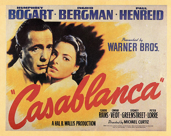 Casablanca (1942, dir. MichaelCurtiz)