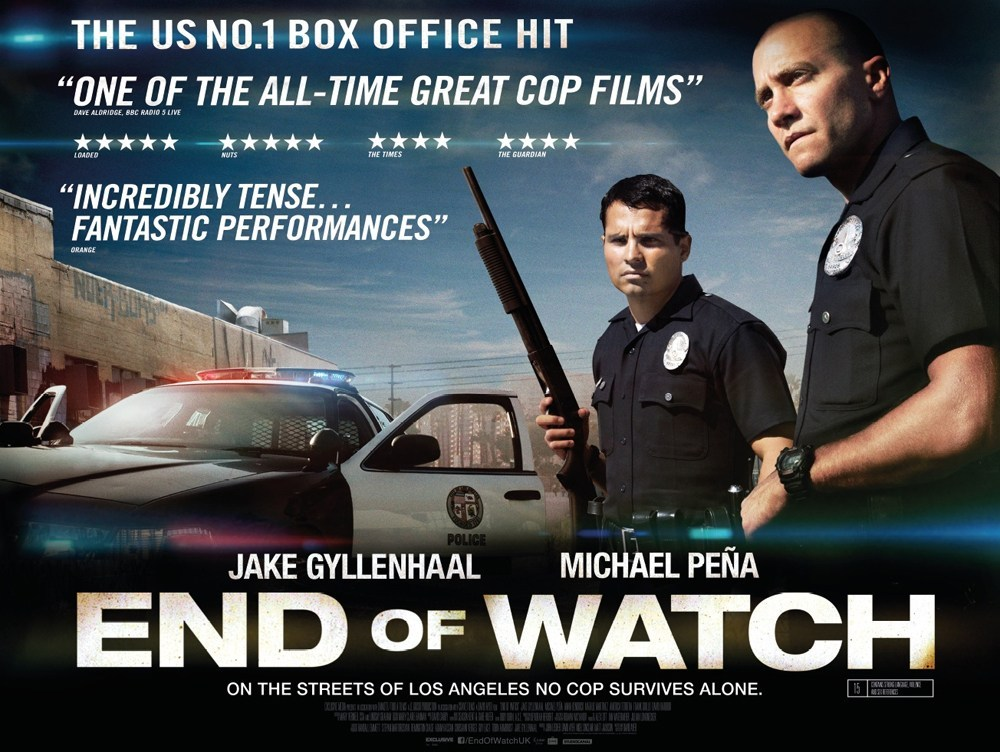 End of Watch (2012, dir. David Ayer)