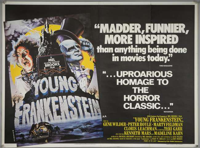 Young Frankenstein (1974, dir. Mel Brooks)