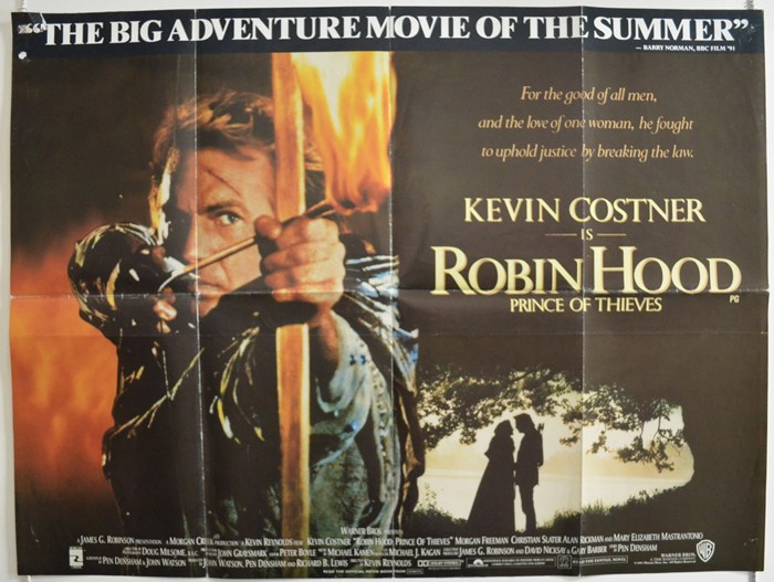 Robin Hood: Prince of Thieves (1991, dir. Kevin Reynolds)