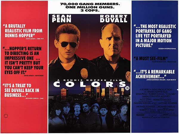 Colors (1988, dir. Dennis Hopper)
