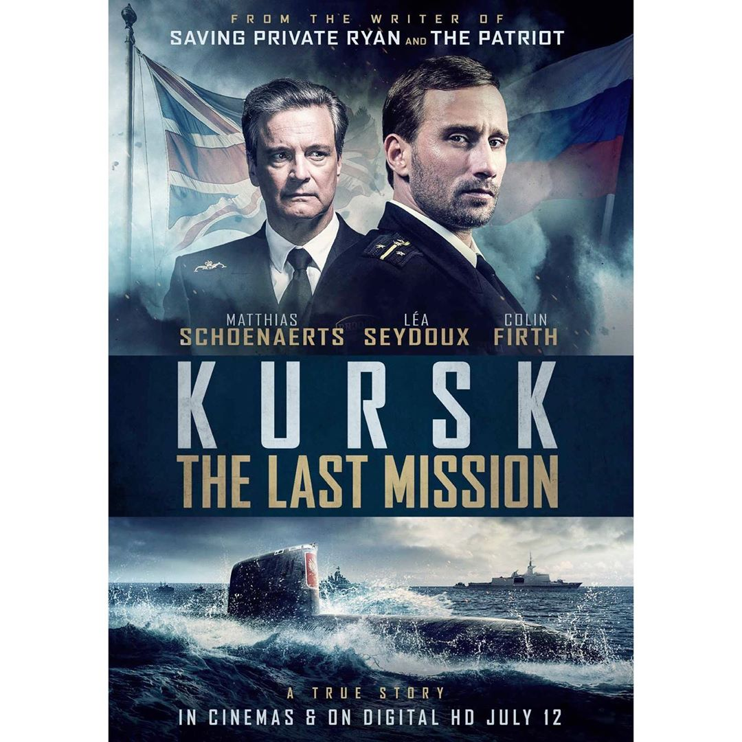 Kursk: The Last Mission [AKA The Command; AKA Kursk] (2018, dir. Thomas Vinterberg)