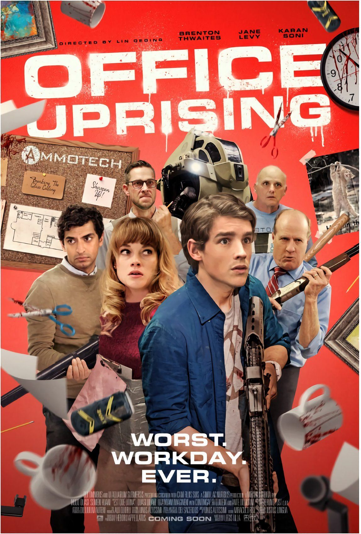 Office Uprising (2018, dir. Lin Oeding)