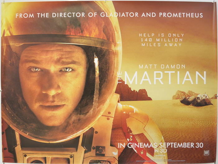 The Martian (2015, dir. Ridley Scott)