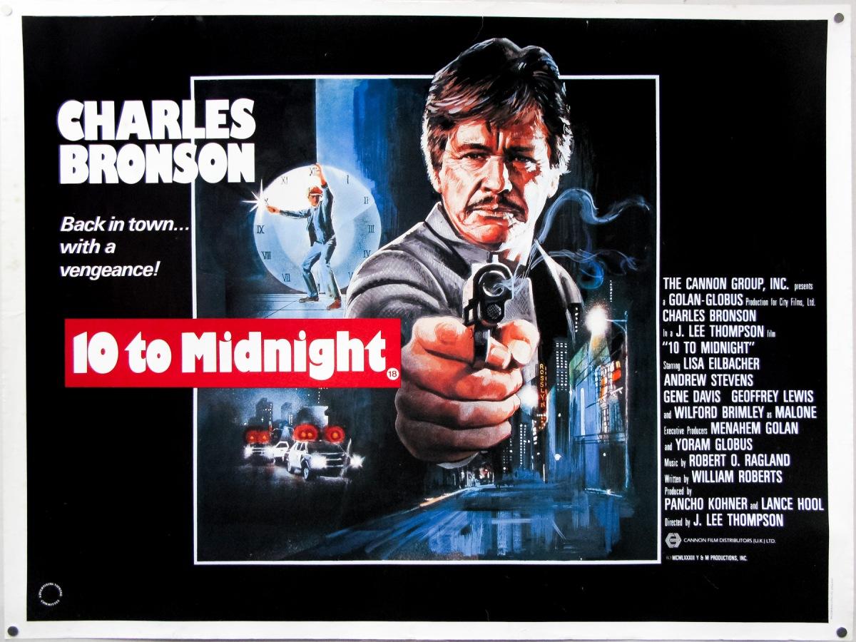10 to Midnight (1983, dir. J LeeThompson)
