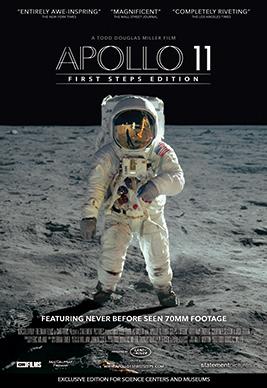 Apollo 11 [AKA Apollo 11: First Steps Edition] (2019, dir. Todd DouglasMiller)