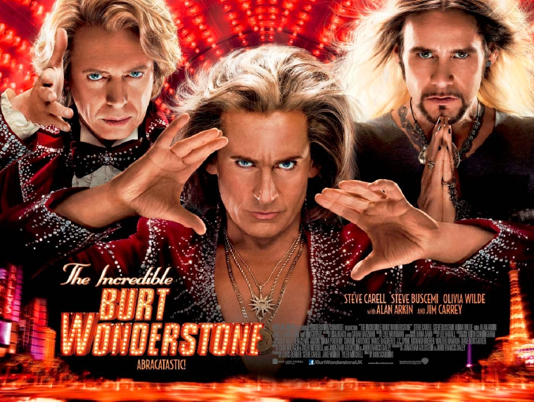 The Incredible Burt Wonderstone (2013, dir. Don Scardino)